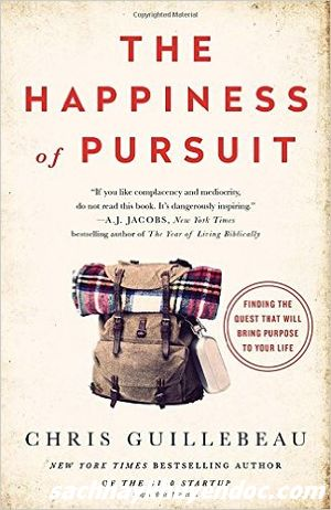 Review sách The Happiness Of Pursuit